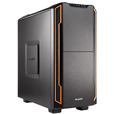 Be Quiet! Silent Base 600 Case Orange