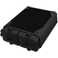 Black Ice Silent Rev2 MP 140mm 3 Row Black Carbon