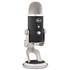 Blue Microphones Yeti Pro USB Microphone Silver