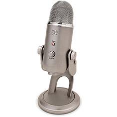 Blue Microphones Yeti USB Microphone Platinum