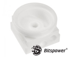 Bitspower D5 Mod Top White S Model