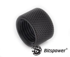 Bitspower G1/4 Matte Black Multi-Transfer Coupler