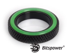Bitspower G1/4 Fitting Spacer Matte Black