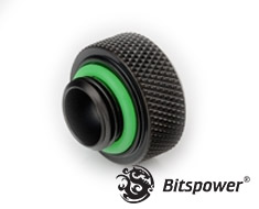 Bitspower Matte Black G1/4 OD 16mm Multi-Link Adapter