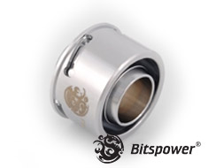Bitspower Premium G1/4 Silver Shining Quick Compression Fitting
