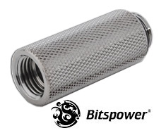 Bitspower G1/4 Silver Shining Extender 40mm