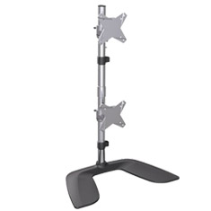 Brateck LDT02V Free Standing Dual Vertical Monitor Stand
