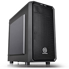Thermaltake Versa H15 Mid Tower Chassis with 450W PSU