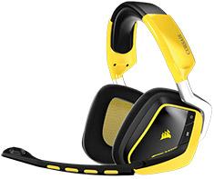 Corsair Gaming VOID Wireless 7.1 Gaming Headset Yellow - SE