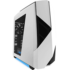 NZXT Noctis 450 Mid Tower Gaming Case White