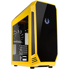 BitFenix Aegis Case with Display Yellow