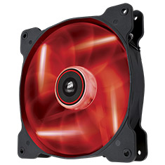Corsair Air Series AF140 Quiet Edition Red LED Fan
