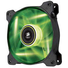 Corsair Air Series SP120 High Static Pressure Green LED Fan