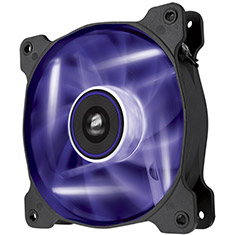 Corsair Air Series SP120 High Static Pressure Purple LED Fan