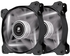 Corsair Air Series SP120 White LED Fan Twin Pack