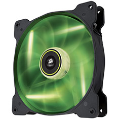 Corsair Air Series SP140 High Static Pressure Green LED Fan