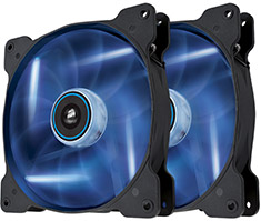 Corsair Air Series SP140 Blue LED Fan Twin Pack