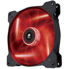 Corsair Air Series SP140 High Static Pressure Red LED Fan