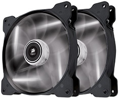 Corsair Air Series SP140 White LED Fan Twin Pack