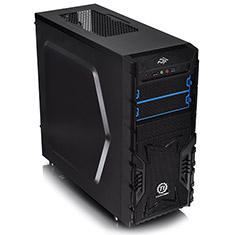 Thermaltake Black Versa H23 Mid Tower with 500w PSU
