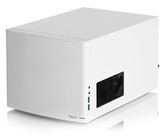 Fractal Design Node 304 Mini ITX DTX Case White