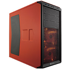 Corsair Graphite 230T Case with Window Rebel Orange