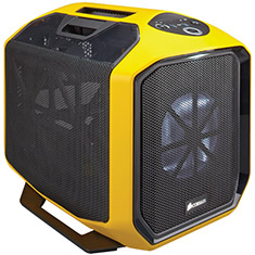 Corsair Graphite 380T Mini ITX Yellow Gaming Case