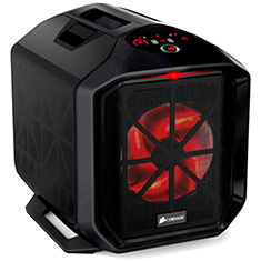 Corsair Graphite 380T Mini ITX Black Gaming Case