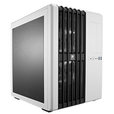Corsair Carbide Air 540 High Airflow ATX Cube Case Arctic White