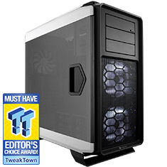 Corsair Graphite 760T Full Tower Case White