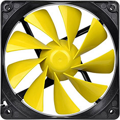 Thermaltake Pure 12 C 120mm Yellow Fan