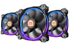 Thermaltake Riing 120mm RGB Fan 3 Pack with Controller