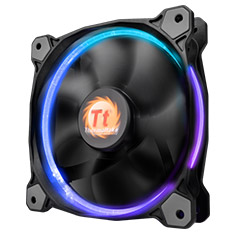 Thermaltake Riing 120mm RGB Fan with Controller
