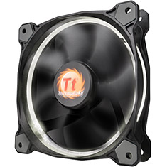 Thermaltake Riing 12 High Static Pressure 120mm White LED Fan
