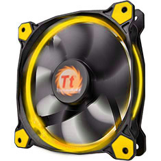 Thermaltake Riing 12 High Static Pressure 120mm Yellow LED Fan