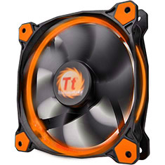 Thermaltake Riing 14 High Static Pressure 140mm Orange LED Fan