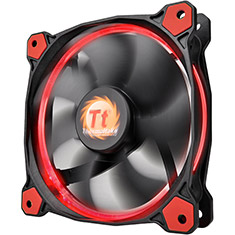 Thermaltake Riing 12 High Static Pressure 120mm Red LED Fan
