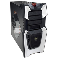 Cougar Challenger 6HM6 Gaming Case White