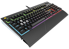 Corsair Gaming Strafe RGB Mechanical Keyboard Cherry MX Silent