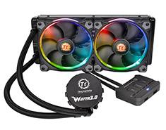 Thermaltake Water 3.0 Riing RGB 240mm AIO Liquid CPU Cooler