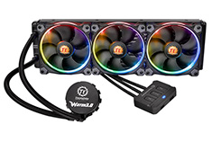 Thermaltake Water 3.0 Riing RGB 360mm AIO Liquid CPU Cooler