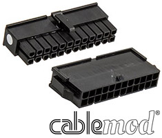 CableMod ModFlex Connector Pack 24pin ATX Black