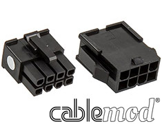 CableMod ModFlex Connector Pack 8pin EPS Black