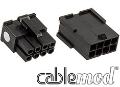 CableMod ModFlex Connector Pack 8pin PCI-E Black