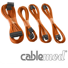 CableMod C-Series AXi, HXi & RM Basic Cable Kit Orange