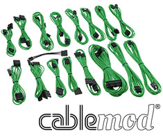 CableMod C-Series AXi, HXi & RM Cable Kit Green