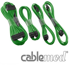 CableMod C-Series RMi / RMx Basic Cable Kit Green