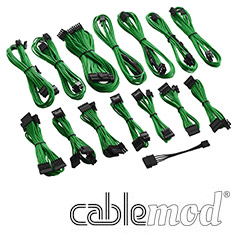 CableMod C-Series RMi / RMx Cable Kit Green