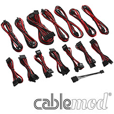 CableMod C-Series RMi / RMx Cable Kit Black/Red