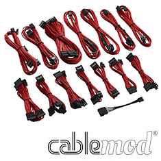 CableMod C-Series RMi / RMx Cable Kit Red